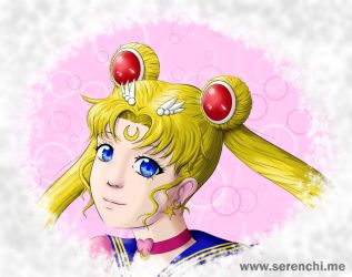 Eternal Sailor Moon by serenchi