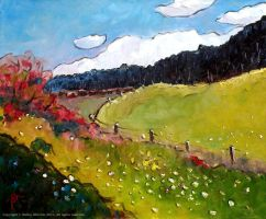 Alpine Meadow by Art-deWhill