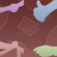 Hand Silhouette by xsy