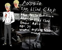 Passio the blind Chef by ChaosCat08