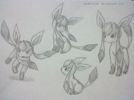 Glaceon 6 by BluuKiss