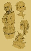 NieR Sketches by Chopstuff