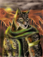 Khajiit Warrior by xDizzyBx
