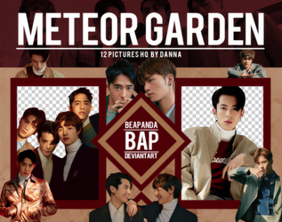 Pack Png 1175 // F4 (METEOR GARDEN CAST) by BEAPANDA