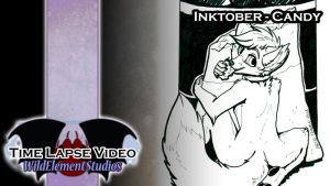 [VIDEO] Inktober 2016 - Bozo Candy by Temrin