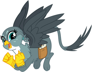 Gabby Griffon by cheezedoodle96