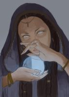 Sorceress-s-Magic-Process-GIF by LeoNealArt