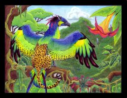 amazonian griffin by terroa