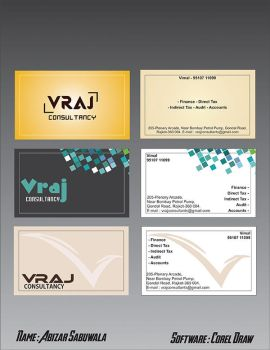 visiting card by ABIFRIEND