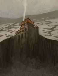 Mountain Fortress by atomicman