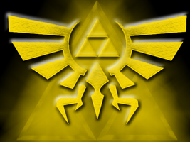 Triforce Crest Wallpaper by Aleitheo