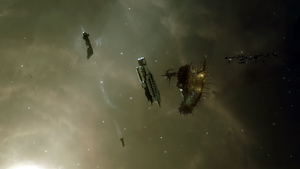 Eve Online - Sansha Invasion Zone by Vollhov