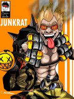 JUNKRAT (Overwatch) by Boy-Wonder-Arts