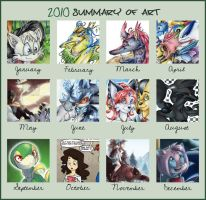 Summary of art 2010 by mmishee