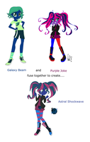 Galaxy Beam and Purple Joke Fusion by BerryPunchrules