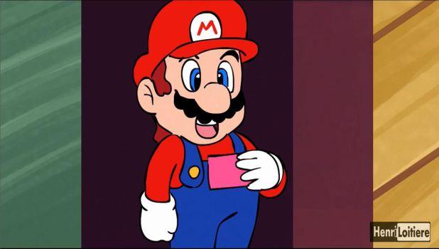 Mario's Date (youtube animation) by Mariohenri
