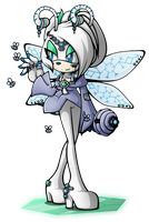 .:Queen Christabelle The Snow Bee:. by RubySp00n