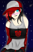 Humanized TF Moonraptor by xAutaineXDreamerx