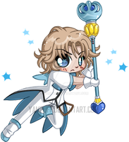 The Flashing Prince ::Micro Chibi:: by YamPuff