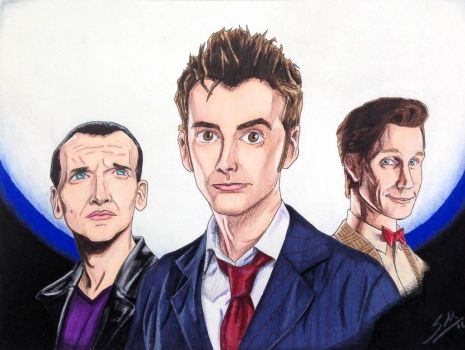 The Three Doctors by Mason44