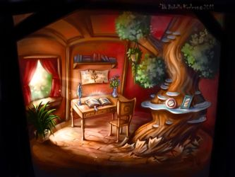 Little tree house by koel-art