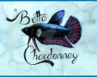 Betta Chardonnay 1 by TheLaughingVixen