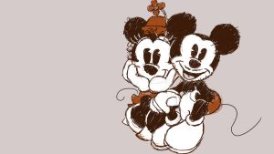 2 4 2015 Mickey and Minnie by Rochnan