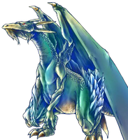 Luster Dragon 2 png by Carlos123321