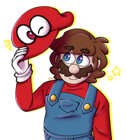 mario odyssey by 75m
