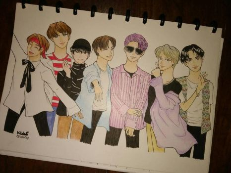 BTS Fanart [Original Version] by karlzala