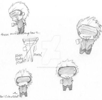 Chibi Godot Sketches by AnimeGirlMika