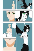 OCxUlquiorra Manga Page Base by Artist903