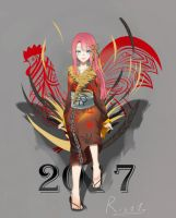 Rooster Year ! by Risa1