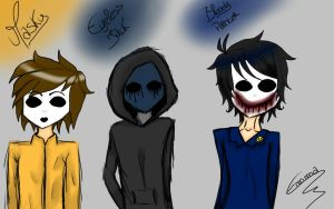 3 Mask in Creepypasta by AyanoThePanda