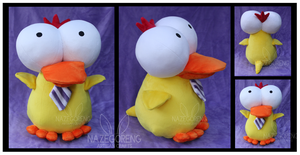 Ducky Custom Plush by Nazegoreng
