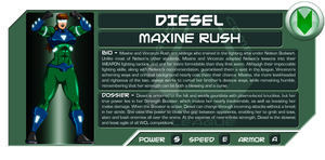 Maxine Rush: Diesel by Dualmask