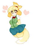 Isabelle by punipaws