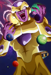 Emperor of the Universe. Golden Freezer by Koku78