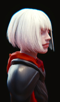 Blender hair test by JoseConseco