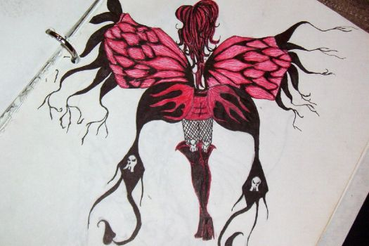 Butterfly Lady by dumbblonde0713