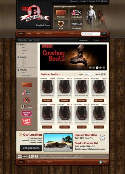 ShopCircleE - Website Concept by Axertion