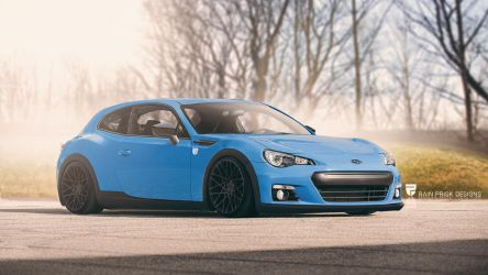 Subaru BRZ hatchback by rainprisk