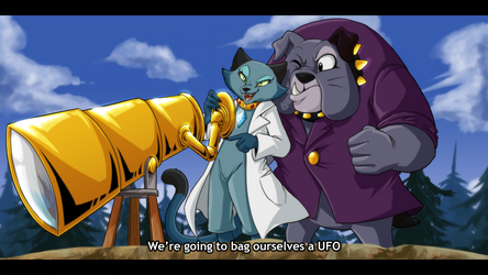 [COM] ''We're going to bag ourselves a UFO'' by Chiibe