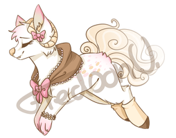 Mary's Little Lamb Dream Dear Adopt (OPTA CLOSED) by FredsonV