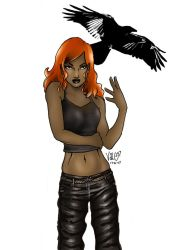 NCWeber's Raven by angiepk