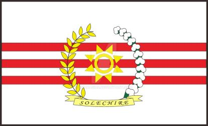 Flag of Solechire by Akarasius