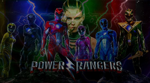 Power Rangers 2017 Poster (fanmade) by Art-Master-1983