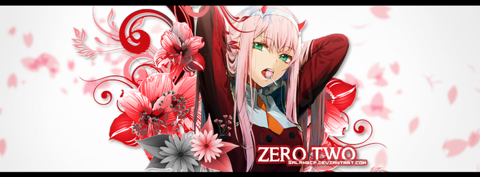 Zero Two (Darling in the FranXX) by galangcp