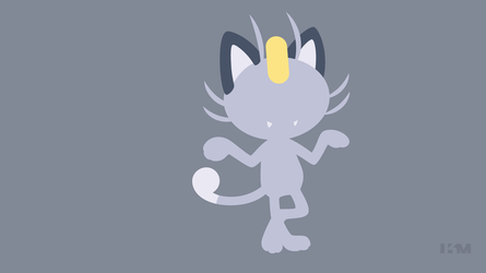 Meowth - Alola Form by Krukmeister