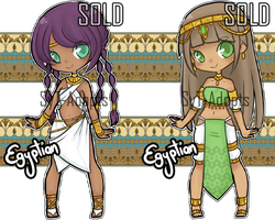 Egyptian Adopts (Set 4) : Closed by SyT-Adopts